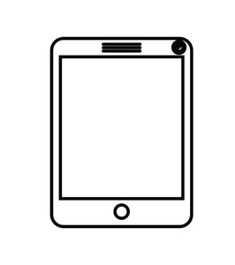 266x300 Modern Tablet Royalty Free Stock Image