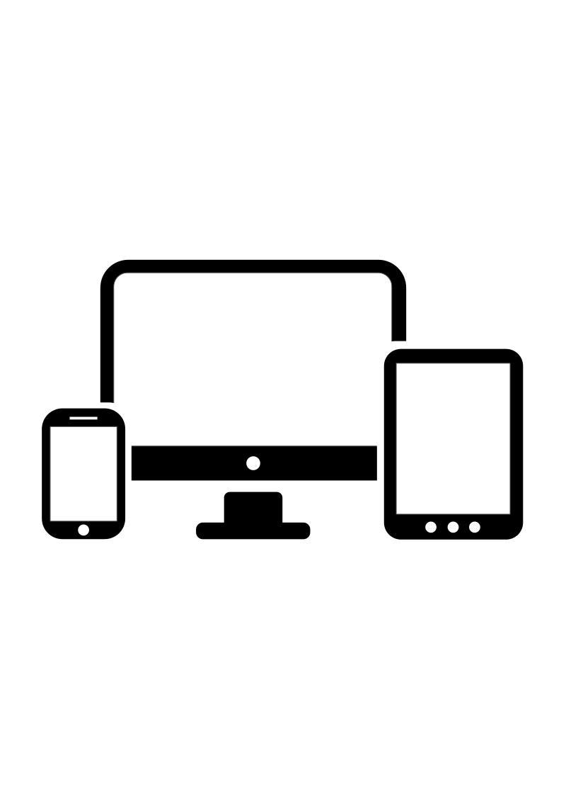 800x1131 Tablet Computer Clipart