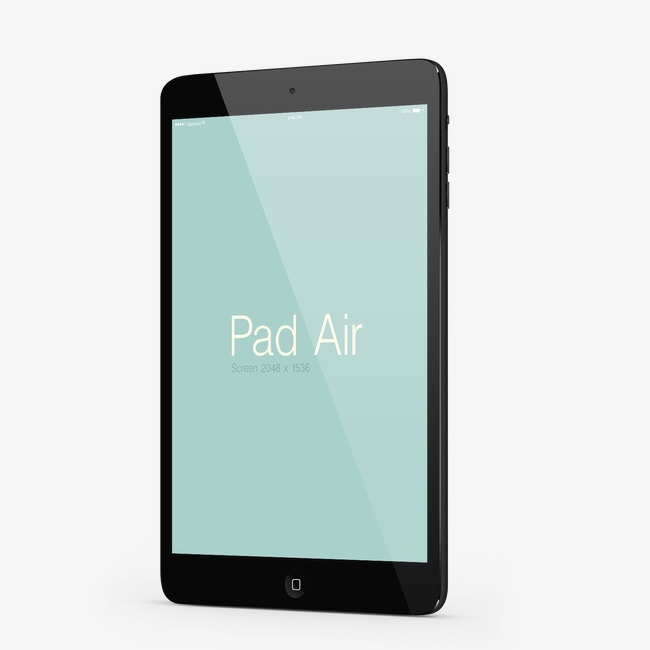 650x650 Tablet, Iphone, Apple Tablet, Tablet Pc Model Machine Png And Psd
