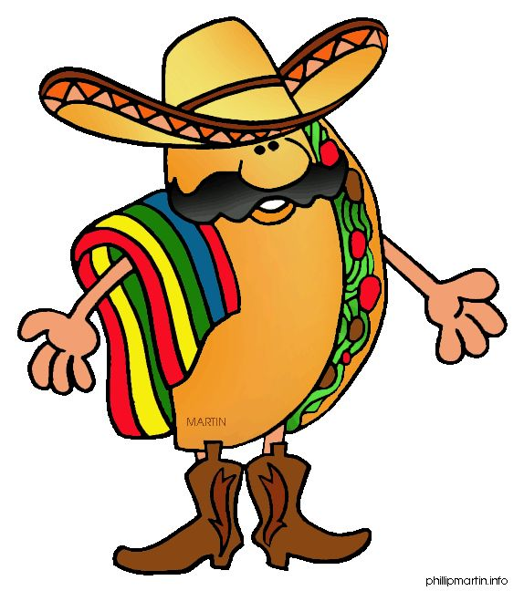 Taco happy. Clipart free download best