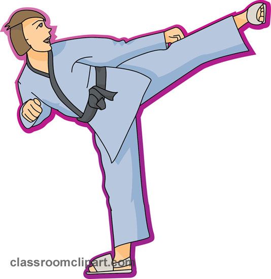 534x550 Karate Search Results For Martial Arts Pictures Clip Art