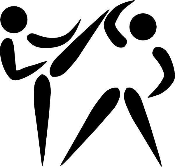 600x574 Olympic Sports Taekwondo Pictogram Clip Art Free Vector In Open