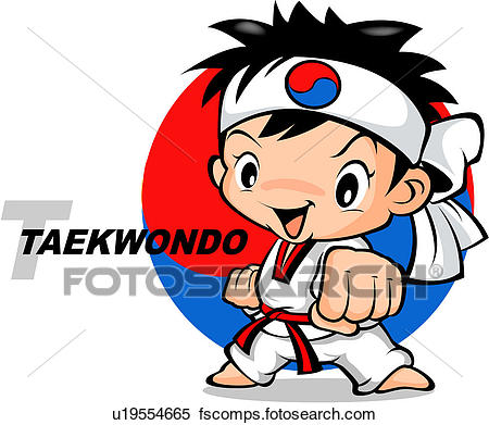 450x391 Stock Illustration Of Tae Kwon Do, Tae Kwondo, Sports, Martial