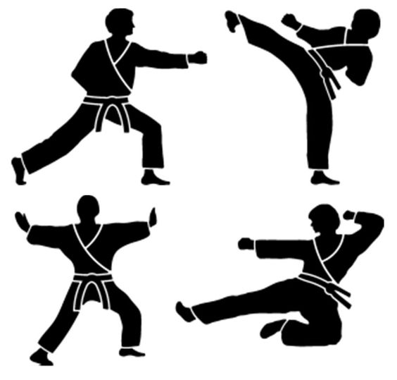 564x539 Taekwondo Belt Cliparts 265748