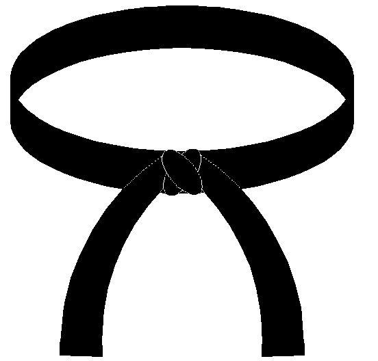 552x528 Taekwondo Black Belt Clip Art Black Belt Taekwondo