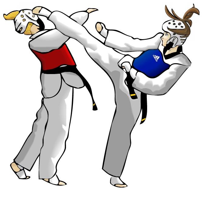 704x692 Taekwondo Sparring Clip Art Cliparts