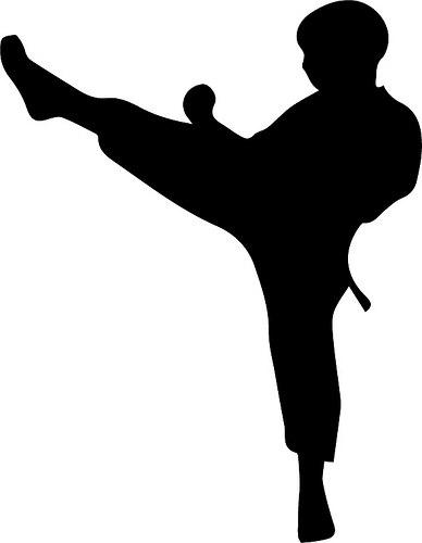 388x500 Karate Kicks.png Free Svg Amp Wpc Cut Files Cricut