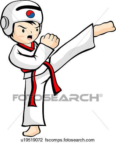 381x470 Clip Art Of Head Gear, Taekwondo Uniform, Asia, Asian, Korean