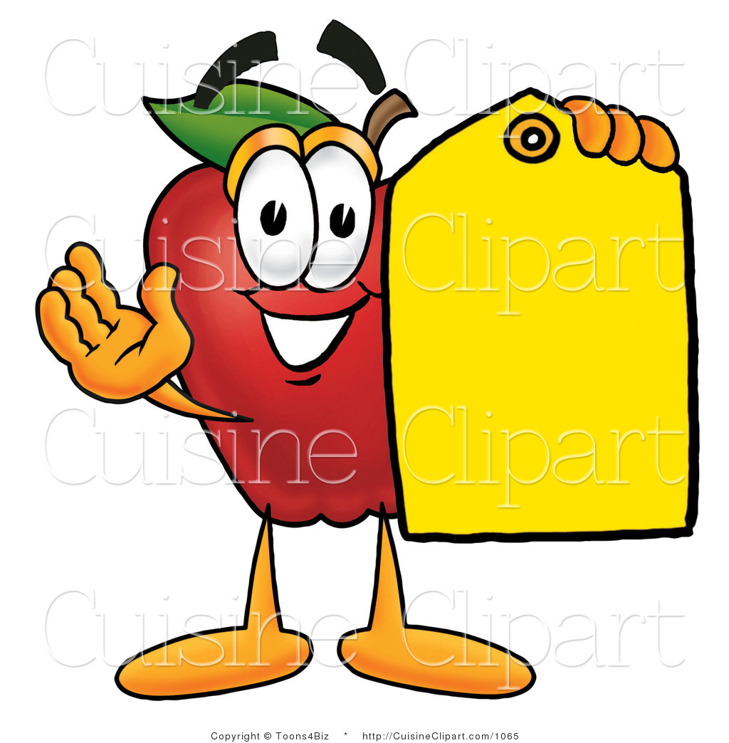1024x1044 Cuisine Clipart Of Friendly Redpple Character Mascot Holding