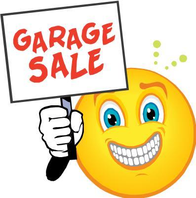 397x402 Garage Sale Clipart