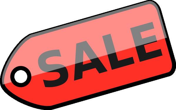 600x375 Sale Tag Clip Art
