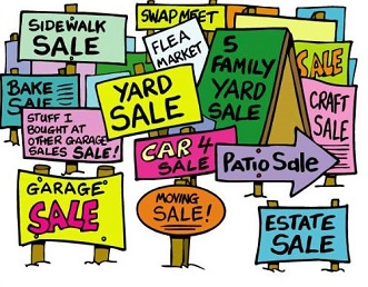 331x258 Yard Sale Clipart