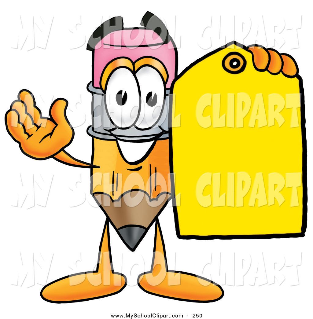 1024x1044 Cliprt Of Yellow Pencil Mascot Cartoon Character Holding