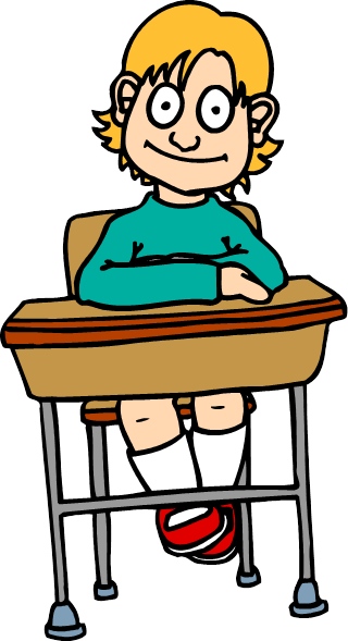 320x589 Student Taking Test Clipart
