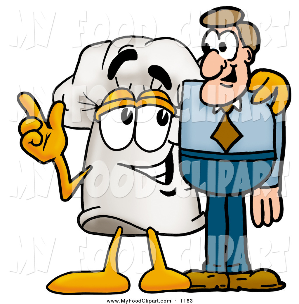1024x1044 Food Clip Art Of An Outgoing Chefs Hat Mascot Cartoon Character