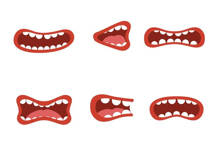 700x490 Free Mouth Talking Vectors