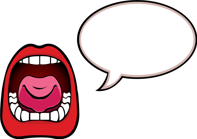 772x547 Mouth Talking Clipart
