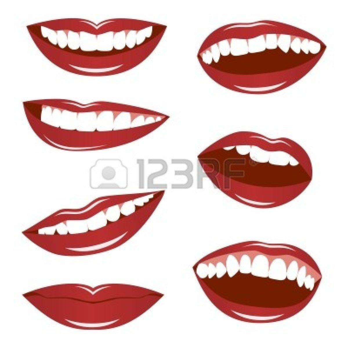 1200x1200 Talking Lips Clipart