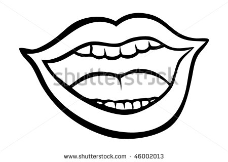 450x320 Boy Mouth With Teeth Clipart