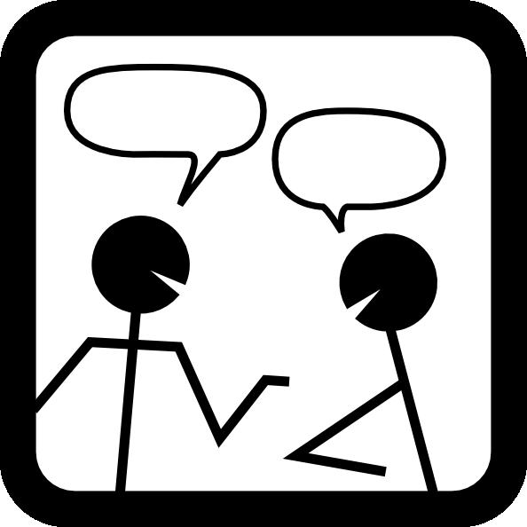 594x594 Clip Art Talking About Clipart 2036428