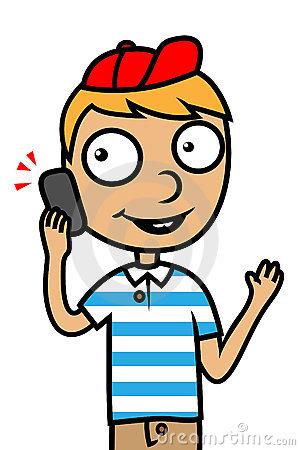 300x450 Phone Clipart Kid