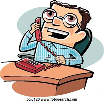 350x348 Talking On The Phone Clipart