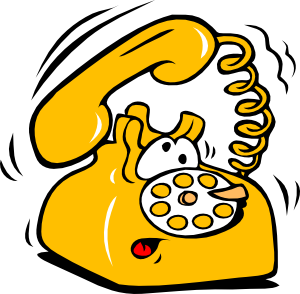 300x294 Talking On The Phone Clipart Clipart Image