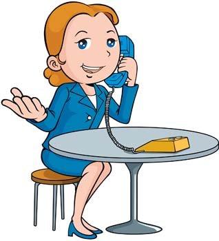 318x350 Phone Clipart