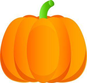 Tall Pumpkin Clipart