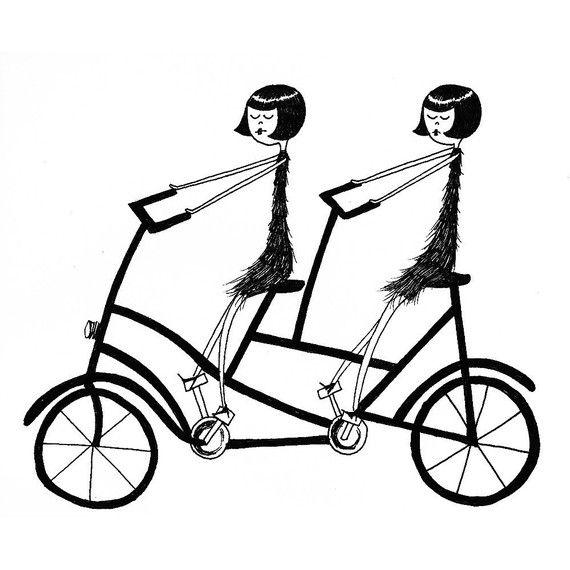 570x570 Best Bike Illustration Ideas Bike Drawing