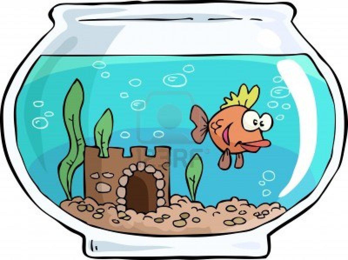 1200x897 Fish In Tank Clipart