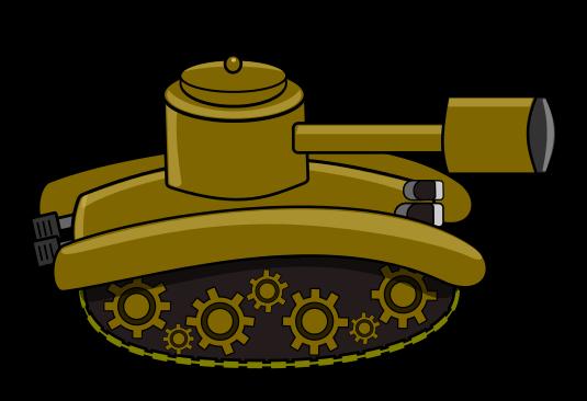 535x366 Free Cartoon Tank Clip Art