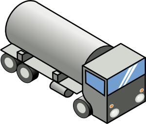 300x254 Gas Tank Truck Clip Art
