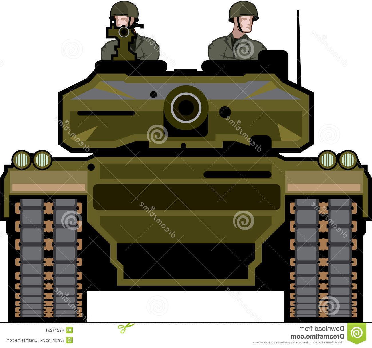 1300x1218 Best Tank Front Illustration Clip Art Vector Eps File Free