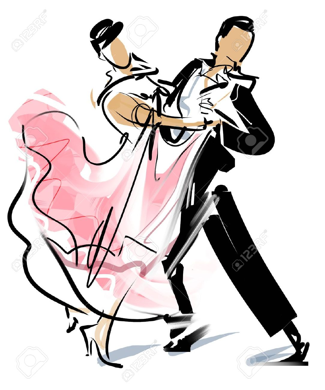 1083x1300 21,027 Couple Dancing Stock Illustrations, Cliparts And Royalty