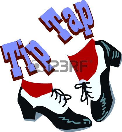418x450 349 Tap Dance Cliparts, Stock Vector And Royalty Free Tap Dance