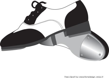 450x324 Shoe Clipart Tap Dance
