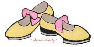 300x153 Tap Shoes Clip Art