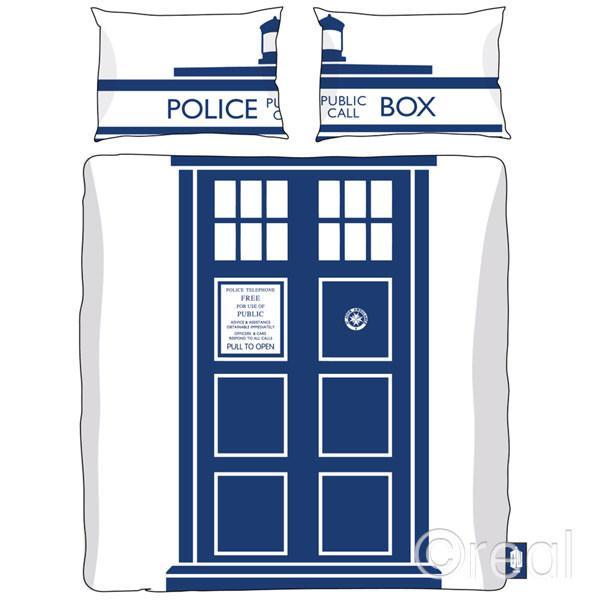 600x600 Doctor Who Tardis Duvet Amp Pillow Cover Set