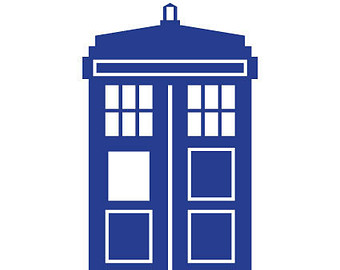 340x270 Doctor Who Tardis Clipart