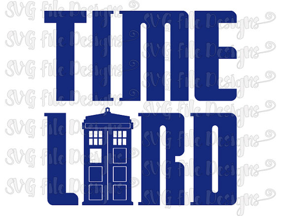 570x438 Time Lord Doctor Who Tardis Shirt Decal Cut File Clipart In Svg