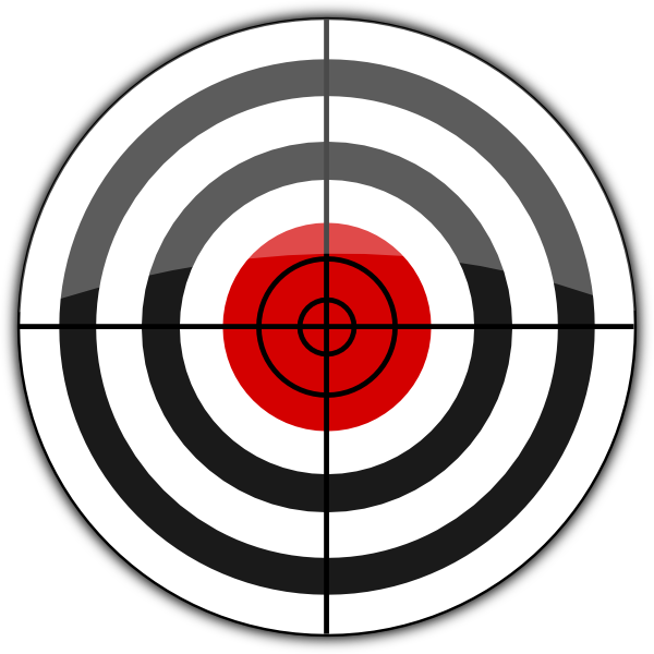 600x600 Target Icon Png, Svg Clip Art For Web