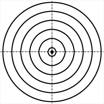 350x350 Target Clipart
