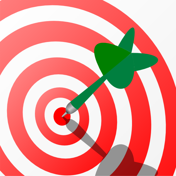 600x600 Target Clipart Purpose
