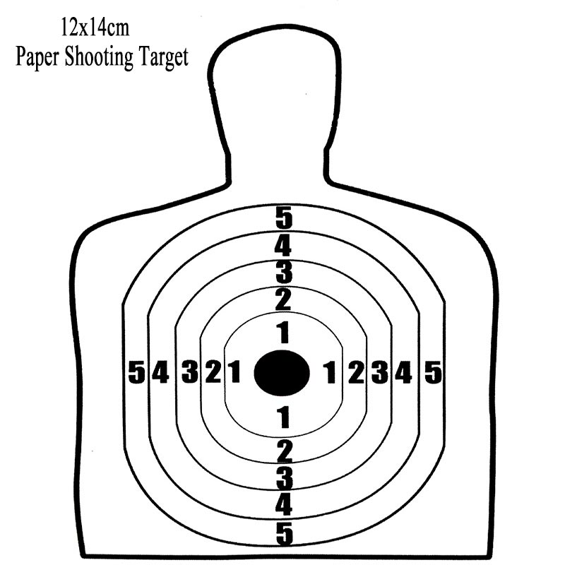 graphic regarding Printable Silhouette Targets named Concentration Teach Shots Free of charge obtain ideal Concentration