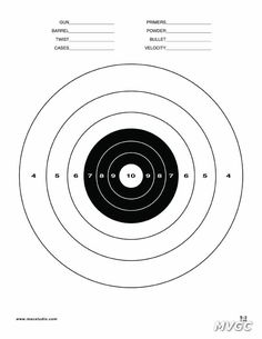 236x305 Printable Shooting Target Nerf Party Shooting