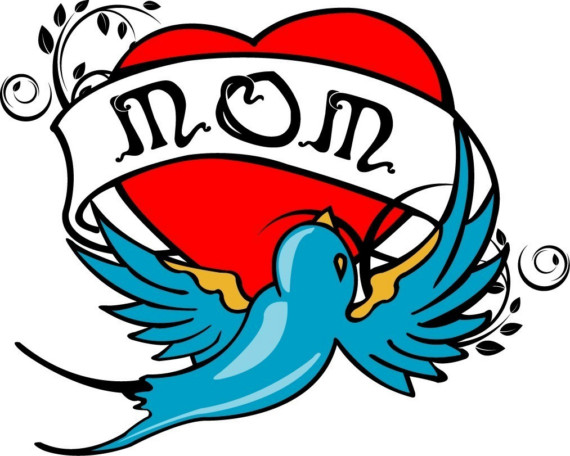 570x456 Mom Tattoo Clip Art Related Keywords