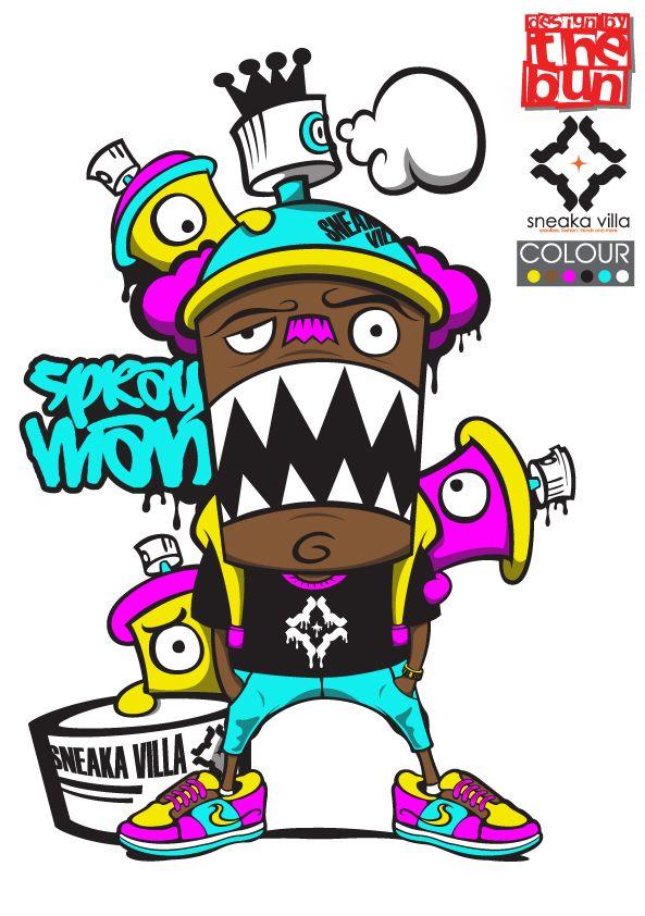 593x842 29 Best Graffiti Art Cartoon Tattoos Images Artists