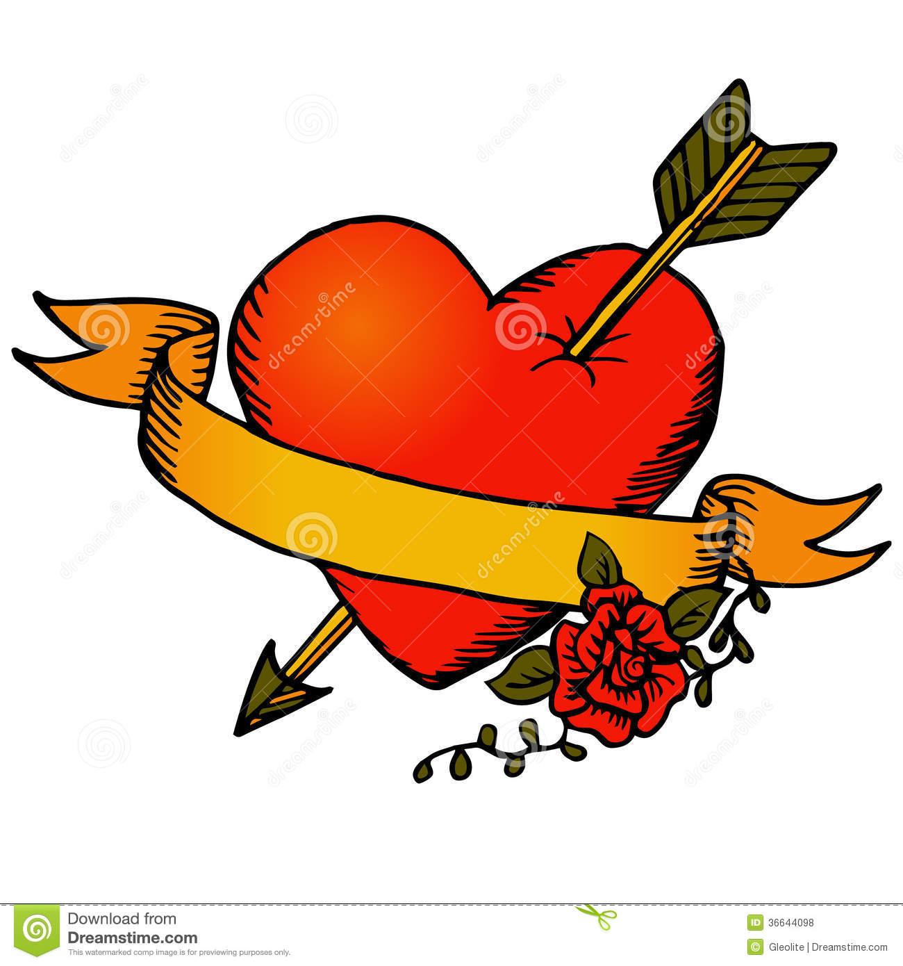 1300x1390 Tattoo Clipart Heart
