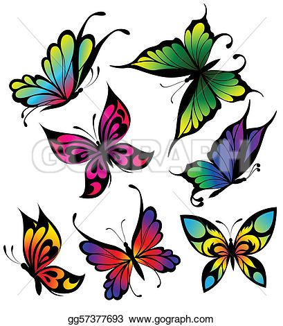 409x470 41 Best Butterfly Tattoo Clip Art Images